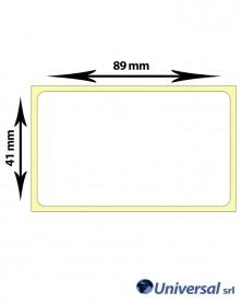 Rotolo etichette termiche 89x41 mm