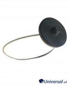"Placca Antitaccheggio BIG ROUND JAR TAG SUPER LOCK ""RF"" 8,2 MHz Pezzi 100"