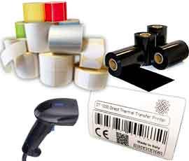 BARCODE - Stampanti etichette ribbon